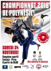 Affiche CHAPIONNAT POLYNESIE-A3