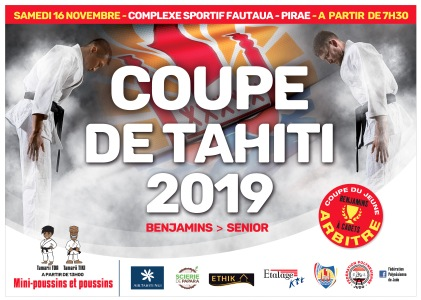 Affiche COUPE DE TAHITI-novembre 2019